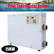 15kw Electric Swimming Pool Thermostat Heater 220v Schwimmbadheizung Poolheizung