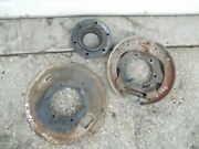 Ford Naa Tractor Right Brake Shoe Shoes + Back Cover Plate Assembly