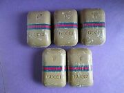 Set Of 5 1970's Vintage Bar Soap Sealed In Cellophane Very Rare