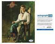 Sam Claflin The Hunger Games Catching Fire Autograph Signed 8x10 Photo Acoa