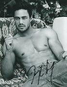 Taylor Kinney The Other Woman Co-star Signed Shirtless Photo