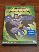 Batman The Brave And The Bold - Season One Part Twodvd 2011 2-disc Set New