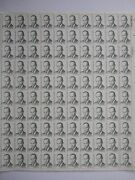 Scott 1865 Charles Drew M.d. Sheet Of 100 Us 35andcent Stamps Mnh 1984