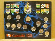1992 Canadian 125th Anniversary Coin Set, Mint Uncirculated Coins