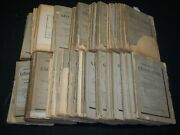 1877-1904 Societe Belge De Geographie Bulletin Lot Of 108 Issues - Maps - Wr 141