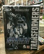 In Hand Threezero Transformers Bumblebee Dlx Collectible Soundwave And Ravage