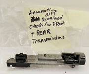 Ho / Rivarossi / 2-8-8-2 / Locomotive 2197 Chassis / Front And Rear Transmission