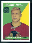 1958-59 Topps 66 Bobby Hull Rc Mint Chicago Blackhawks Archives Rookie Reprint