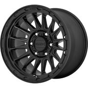 4-18x9 Black Wheel Kmc Km542 Impact 6x5.5 0