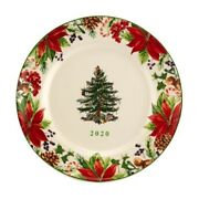 New Spode Christmas Tree 2020 8 Annual Collector Plate - New In Box