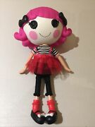 Lalaloopsy Mime Clown Doll Pink Hair Black Bows 12andrdquo With Complete Outfit