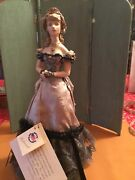 Kathy Redmond 14andrdquo Hand Molded Porcelain Fashion Lady Doll Exquisite