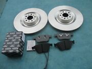 Bentley Continental Gt Gtc Flying Spur Front Brake Pads Rotors 4644