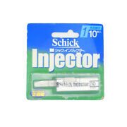 Schick Japan-injector 1-blades Spare 10pcs.shaving Razors With Tracking