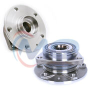 2 Front Wheel Bearing Hub Assembly W/abs For Volkswagen Audi A3 Vw Golf 513262