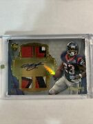 Arian Foster 2012 Topps Supreme Chunky Patch Auto 5/5