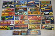 Huge Wholesale Lot Of 750 Old Vintage California Grape Crate Labels - 30 Diff.