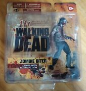 The Walking Dead Zombie Biter Action Figure Series 1 Mcfarlane Toys Brand New