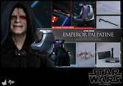 Dhl 1/6 Hot Toys Mms468 Star Wars Emperor Palpatine Deluxe Ver Action Figure
