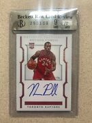 2015 National Treasures Auto True 1/1 Norman Powell Rookie Rc Best Card