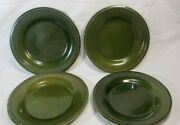 Pier 1 Spice Route Clove Green Plates Set Of 4 Two Sets Available