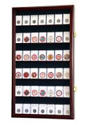 36-42 Collector Ngc Pcgs Icg Coin Slab Display Case Cabinet Holder Rack Lockable