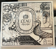Brand New Sealed Diptyque Soap Land039eau 100g / 35 Fl Oz Free Overnight Shipping