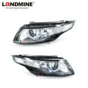 Luftfederung Pair 16pins Fit Range Rover Evoque Hid Led Afs Ahl Front Headlight