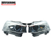 Luftfederung 12-15 Pair Fit Bmw X3 X4 F25 F26 With Afs Xenon Led Front Headlight