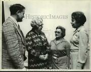 1975 Press Photo Rotary Club Officials Meet In Troy, New York - Tua28759