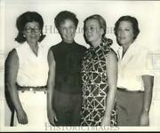1969 Press Photo Mrs. Walter Jung And Other Officers Of Audubon Ladies Golf Club