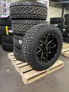 5 20x10 Ion 141 35 Axt2 At Black Wheel Tire Package 5x5 Jeep Gladiator Jt