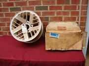 Vintage Mclean Chrome Wire 15x6 Wheels 5x4.5 And 5x4.75 Bolt Pattern