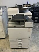 Ricoh Mpc4503 With Only 67k Total Copies Comes With Fiery E-22c And Finisher
