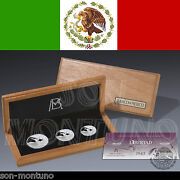 Lucky Serial Number 888 - 2013 Libertad Silver Proof Set - 3 Coins In Box And Coa