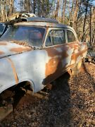 54 Ford Parts Car With 2000 Mercury Mountaineer Donner Car For Project Rebuild