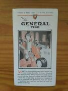1920and039s General Tire Advertising Pamphlet Bachelderand039s Service Station Athol Ma.andnbsp