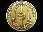 30th Weather Squadron Korea Usaf Challenge Coin