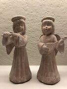 Scioto Collectible Made In Japan Vintage Angel Figurines