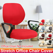 Swivel Computer Chair Cover Stretch Office Armchair Slipcover Protector Decor Us