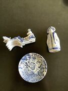 Delft Pottery Lot Very Nice Pieces As Pictured Wonandrsquot Last At This Price
