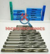4mm To 10.5mm - Hss Valve Stem Guide Reamers Set Of 14 - Spirex - Squared Top-hq