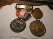 3 Different Vintage Medals Continental Congress Anniversary 1927 York Pa