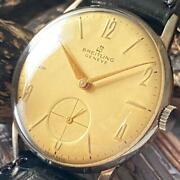 Beautiful Goods Rare Breitling Antique Original Manual Winding Watch Menand039s