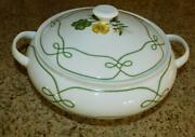 Ceralene Edelweiss Limoges Covered Casserole - Rare - Mint