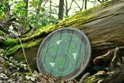 Steel Wood And Leather Skyrim Morthal Hold Shield Replica Stormcloak Norse Viki