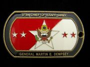 Army Chief Of Staff General Martin E Dempsey Challenge Coin