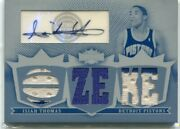 2008-09 Triple Threads Isiah Thomas White Whale Autograph Jersey 1 Of 1 Pistons