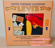 New Leviand039s Vintage Clothing 501xx 55501-0117 Limited Model Very Rare Collection