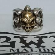 Bwl Bill Wall Leather Tribal Band Ring 18k Skull Shipping Included